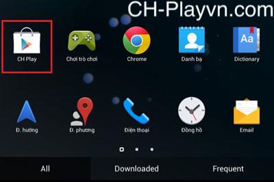 Hướng dẫn đăng ký tạo lập tài khoản Ch Play trên máy điện thoại Android