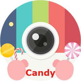 Tải Candy Camera 360 Miễn Phí,Ứng dụng Chụp ảnh selfie đẹp đáng yêu